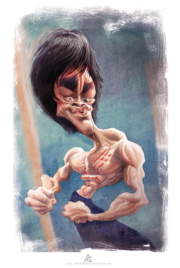 אומנות גרוטסקית - קריקטורות של מפורסמים!
