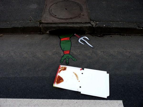אומנות ברחוב ומהרחוב- לא יאומן!