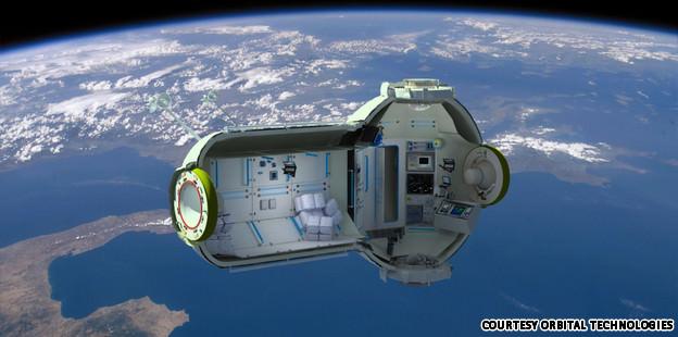 המלון הראשון בחלל ייפתח ב2016! (בעירכה)