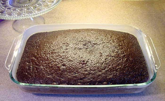 עוגת שוקולד קלה