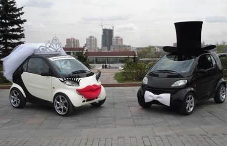 מכוניות חתונה מוזרות