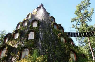 מלון הר געש בצ'ילה