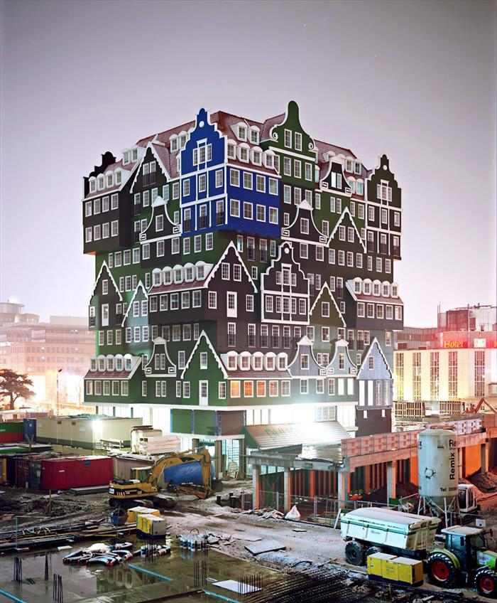 מלון מ-70 בתים בהולנד