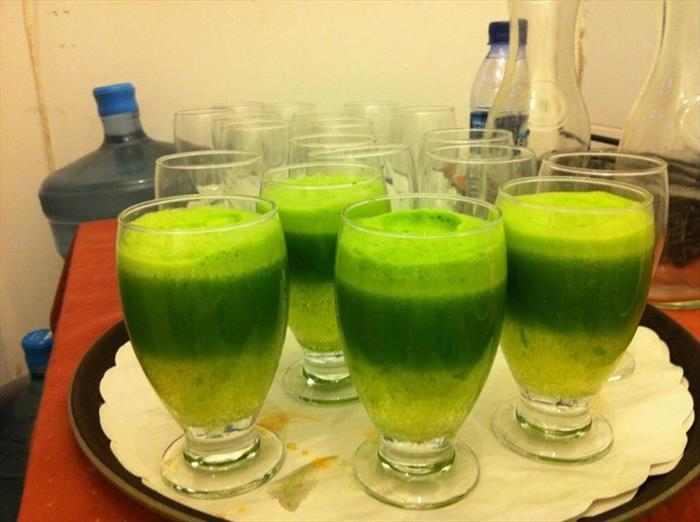 שייק ירוק