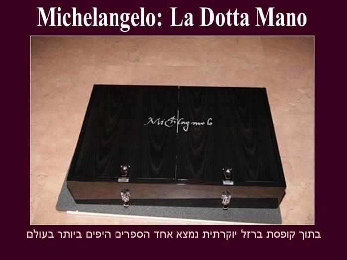 הספר של מיכאלנגלו