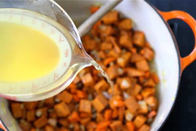מתכון למרק בטטה וקינואה
