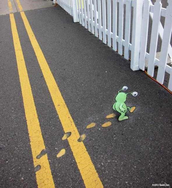 דיוויד צין אמנות רחוב