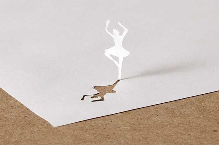 אמנות תלת מימד מקיפולי נייר