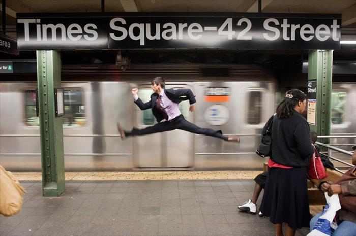 תמונות וסרטון של פרוייקט ריקודים מיוחד ברחוב