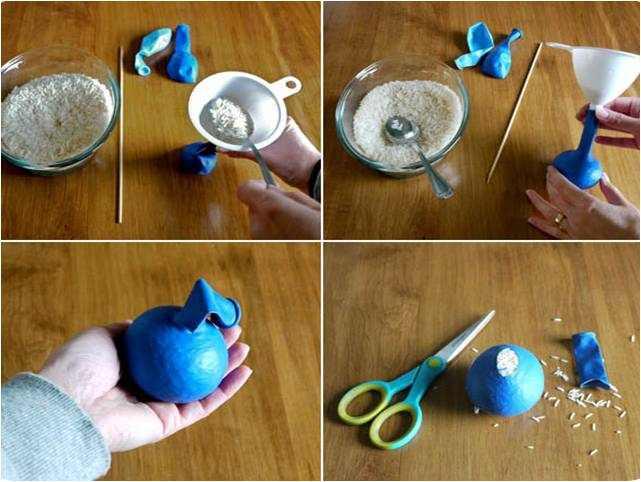 איך להכין כדורי ג'אגלינג?