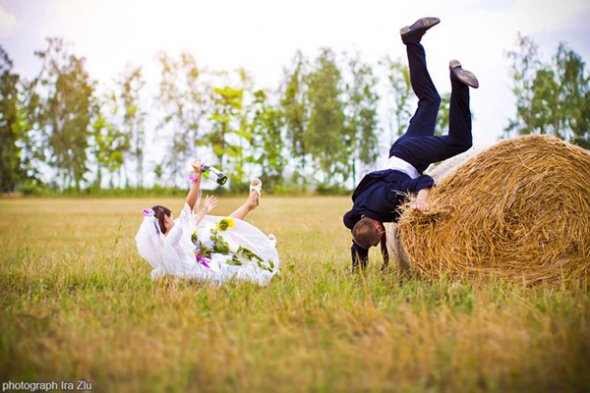 תמונות מצחיקות של חתן וכלה