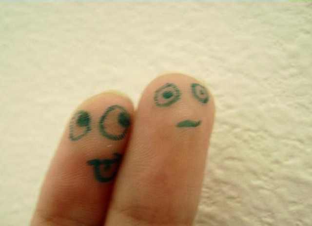 אמנות של אצבעות