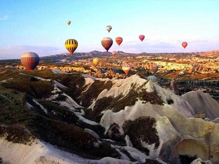 הנוף המרהיב של קפדוקיה
