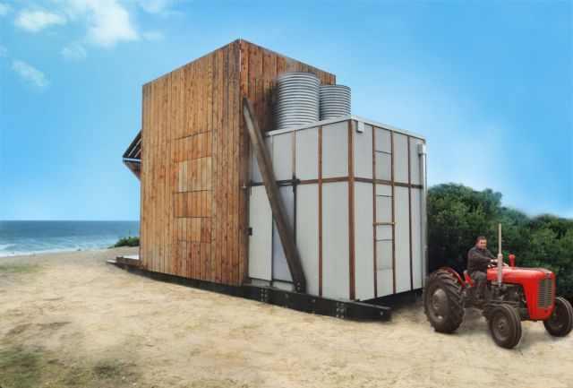 בית חוף נייד