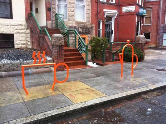 מתקנים מיוחדים לקשירת אופניים