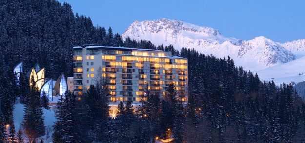 מלון מפואר בשוויץ