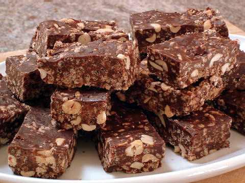 חטיפי שוקולד ודבש