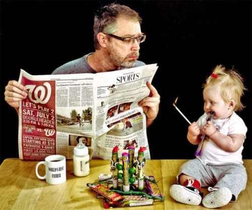 אבא ובת - אין ספק שזה האבא הטוב בעולם!