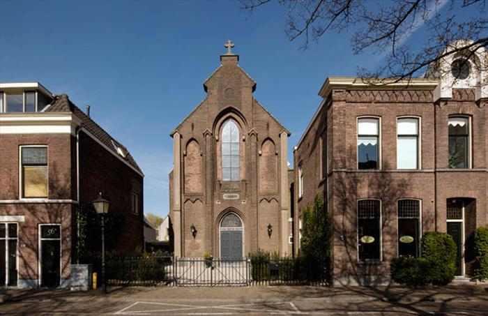 כנסייה שהפכה לבית יוקרתי