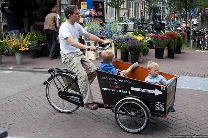 אמסטרדם ואופניים