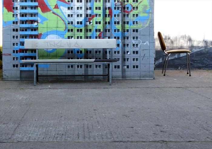 בניינים מצויירים - אמנות רחוב