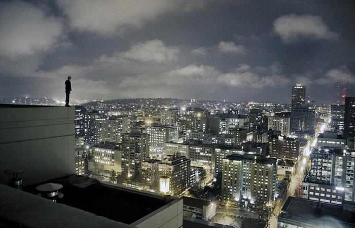 תמונות מדהימות של נוף עירוני מגורדי שחקים