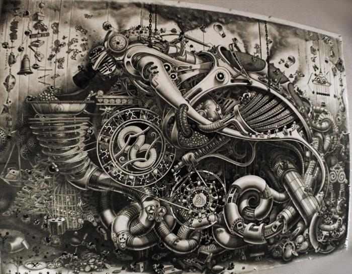 ציור קיר פנורמי