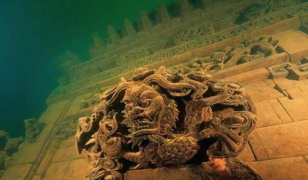 עיר תת מימית בסין