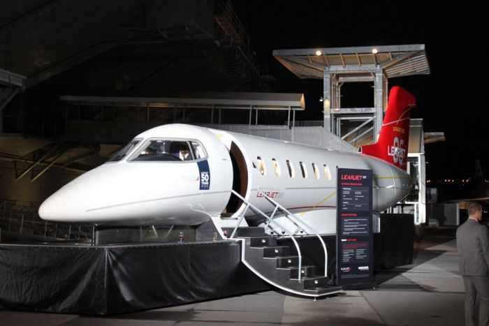 מטוס לירג'ט