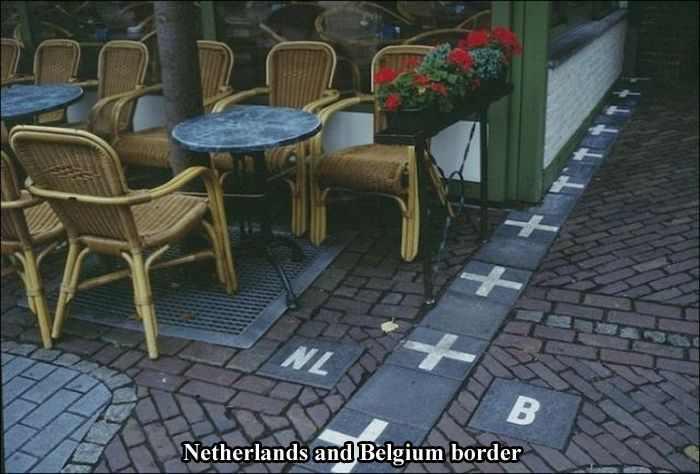 גבולות ברחבי העולם