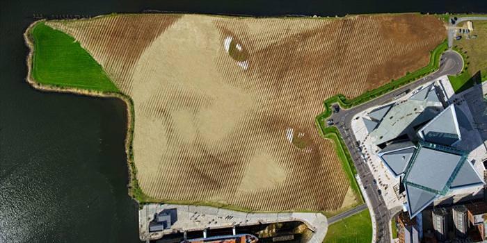 ציור הקרקע הגדול ביותר בבריטניה