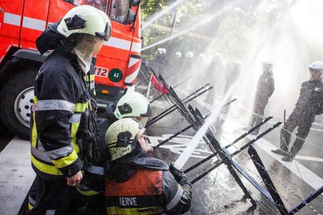 מהומות הכבאים בבלגיה