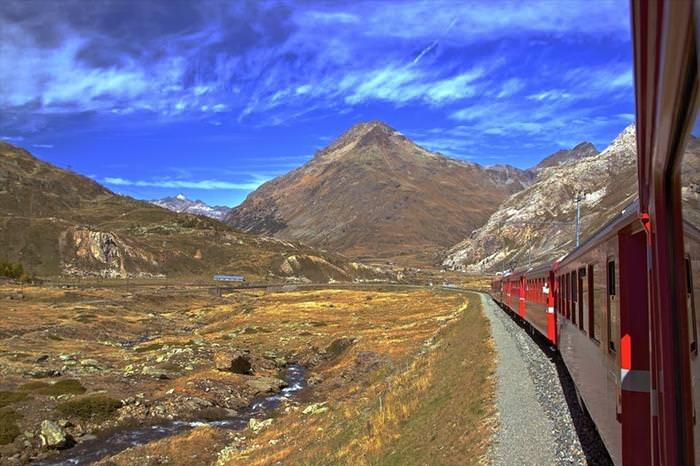מסילות הרכבת עם הנוף היפה בעולם!
