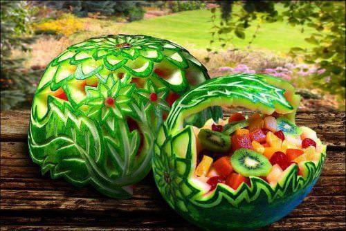 עיצובים מגניבים באוכל