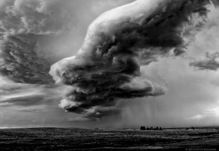 ענני סופה מדהימים