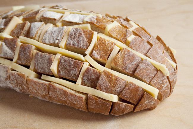 מתכון ללחם עם גבינה