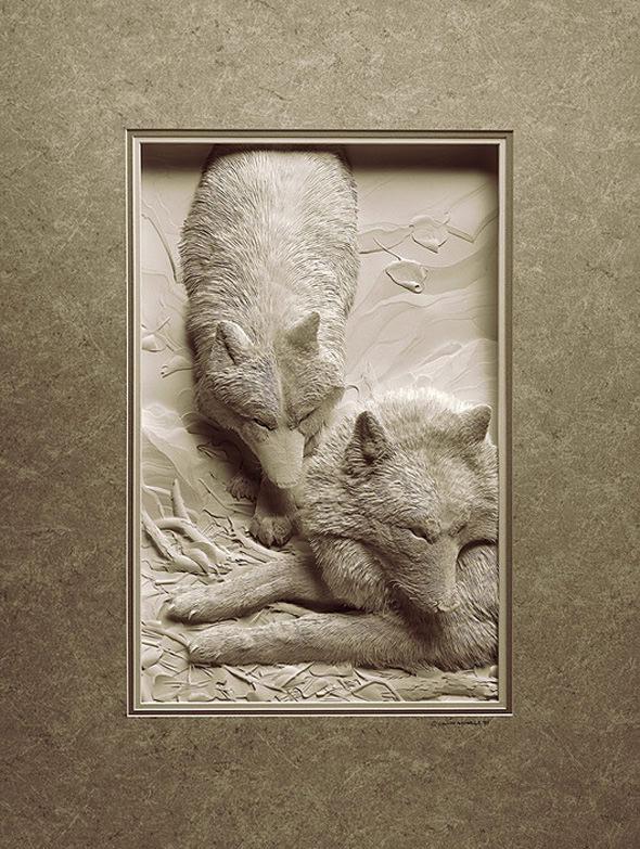 יצירות מדהימות בנייר