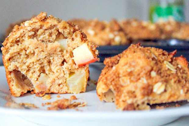 מתכון למאפינס תפוחים וקינמון