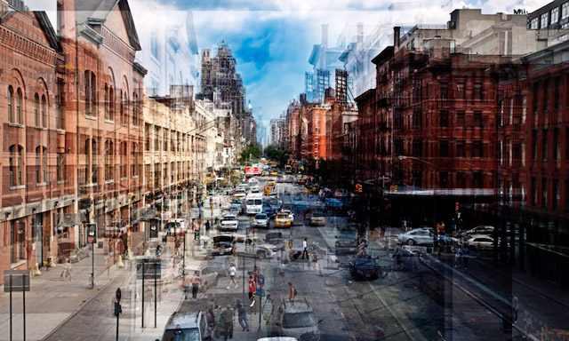 עיר בשכבות