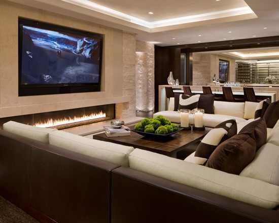 עיצובי מדהימים של בתים וחדרי מגורים