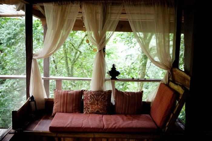 כפר נופש על עצים בקוסטה ריקה