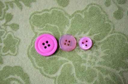 זר כפתורים