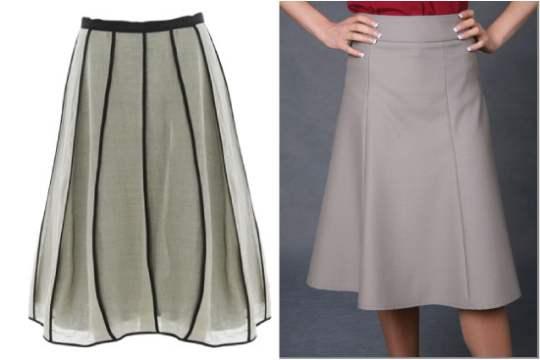 סוגי חצאית לפי סוג הגוף