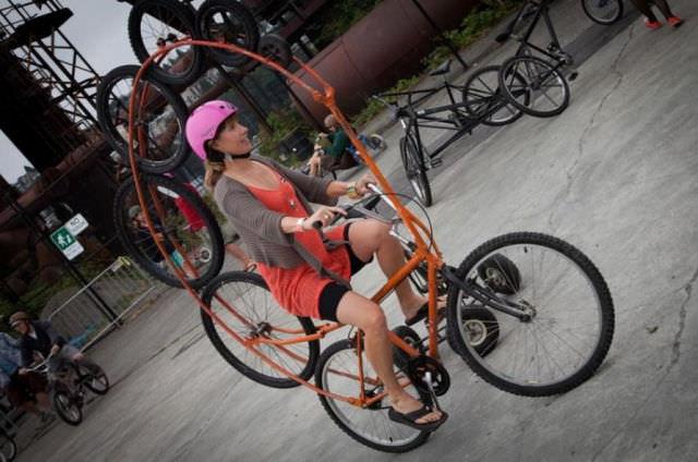 תמונות של אופניים מיוחדים