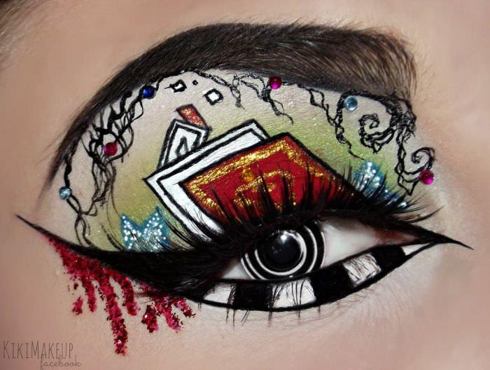 איפור עיניים