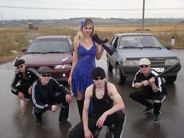 דברים שאפשר לראות רק ברוסיה - תמונות מצחיקות