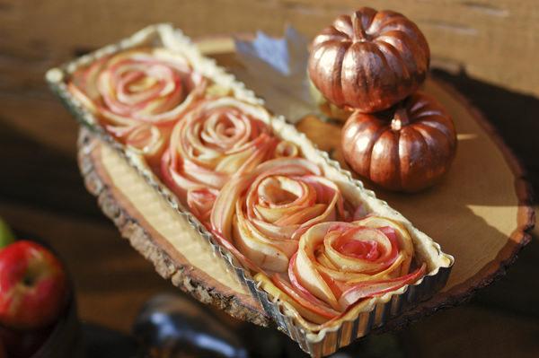 מתכון לטארט שושני תפוחים