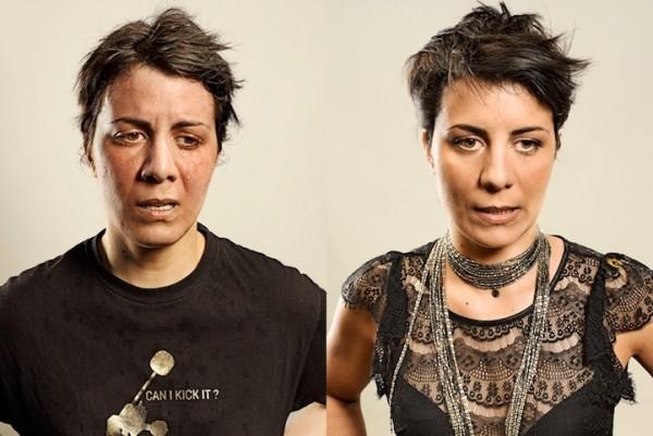 איך אנחנו נראים לפני ואחרי ריצה