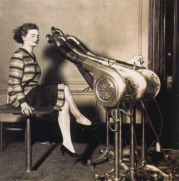 כך נראו מכוני יופי בתחילת המאה העשרים - מפחיד