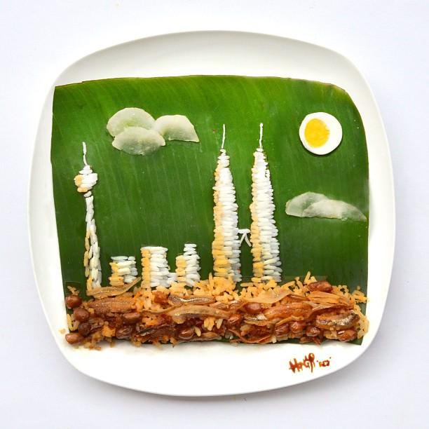 משחק באוכל